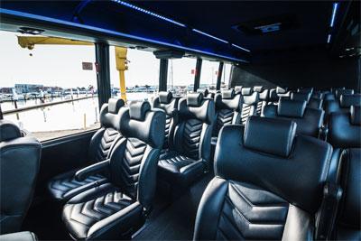 Executive Limo Bus rental services for San Francisco & The Bay Area